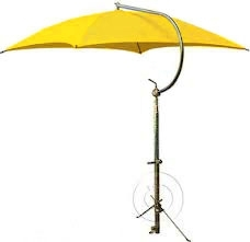 Deluxe Weather Umbrella - Yellow
