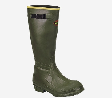 Burly Classic 18in OD Green Rubber Boots