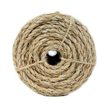 "Koch Industries 1/4"" Natural Twisted Sisal Rope 50ft"