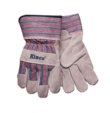 Kinco Youth Suede Lined Split Cowhide Leather Driver Gloves