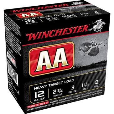 Winchester AA Heavy Target Load 12ga 8-Shot