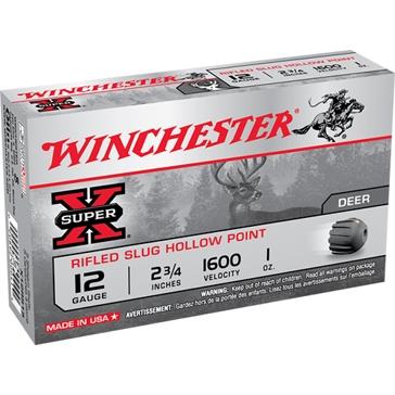 "Winchester Super-X Rifled Slug Hollow Point .410ga 2-1/2"""