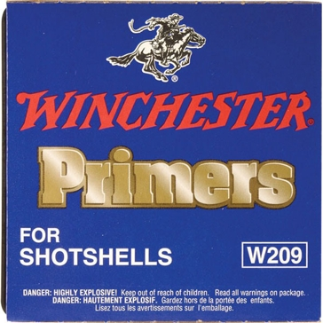 Winchester Primers for Shotshells W209 1000 Primers