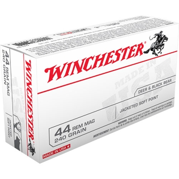Winchester 44 Remington MAG. 240 GR. Jacketed Soft Point