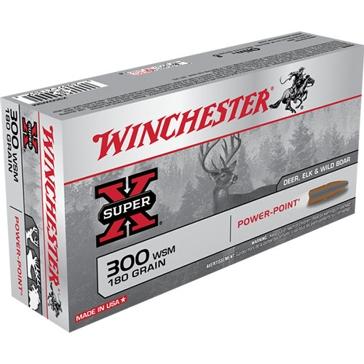 Winchester Super-X 300 WSM 180 GR Power-Point