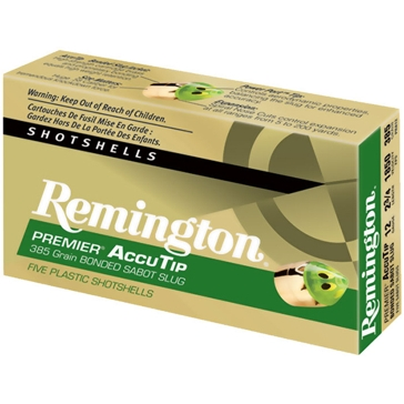 "Remington Premier AccuTip Sabot Slug 12ga 2-3/4"" 5RD"