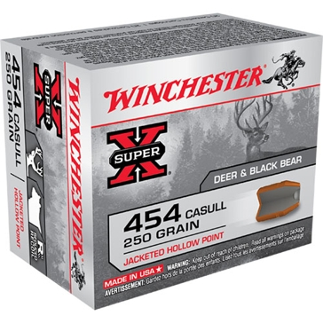Winchester Super-X 454 Casull 250 GR. Jacketed Hollow Point