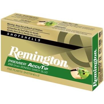 "Remington Premier AccuTip Sabot Slug 20ga 2-3/4"" 5RD"