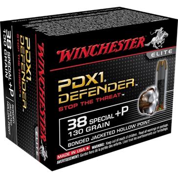 Winchester Elite PDX1 Defender 38 Special +P 130 GR.