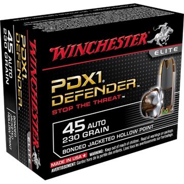Winchester Elite PDX1 Defender 45 Automatic 230 GR