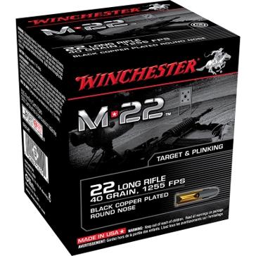 Winchester M22 22 Long Rifle 40 GR.