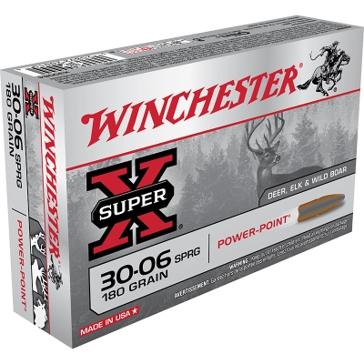 Winchester Super-X 30-06 Springfield 180 GR Power-Point