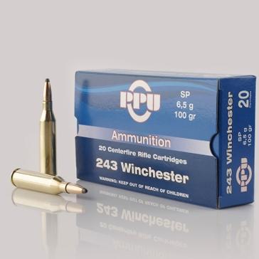Prvi Partizan 243 Winchester 100 GR SP 50RD
