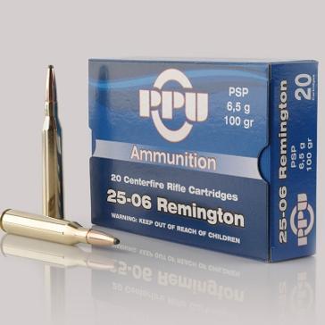 Prvi Partizan 25-06 Remington 100 GR PSP 20RD