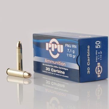 Prvi Partizan 30 Carbine 110 GR FMJRN 50RD