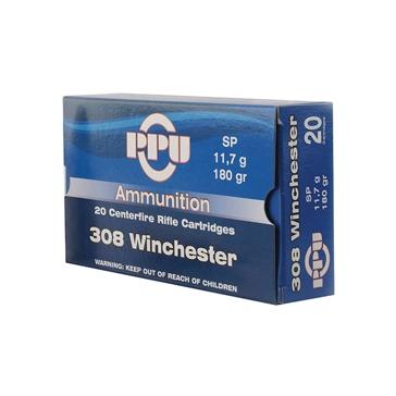 Prvi Partizan 308 Winchester 180 GR SP 20RD