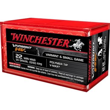Winchester Varmint HV 22 Winchester Mag 30 GR V-Max