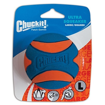 Chuckit! Ultra Squeaker Ball Dog Toy Large