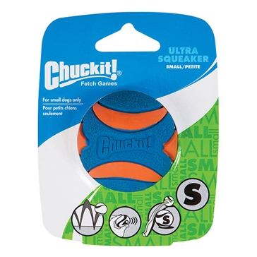 Chuckit! Ultra Squeaker Ball Dog Toy Small