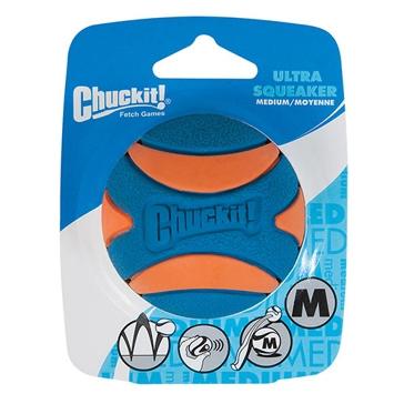 Chuckit! Ultra Squeaker Ball Dog Toy Medium