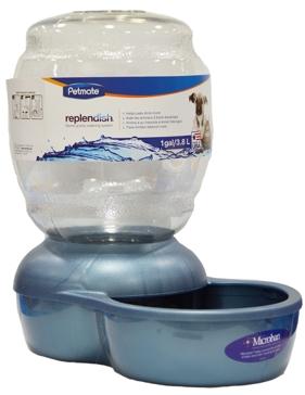 Petmate Replendish Gravity Pet Waterer 1 Gallon