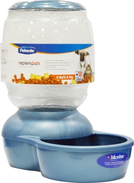Petmate Replendish Gravity Pet Feeder 5lbs