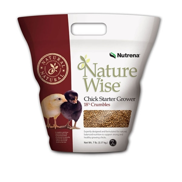 Nutrena NatureWise Chick Starter Poultry Feed 7lb