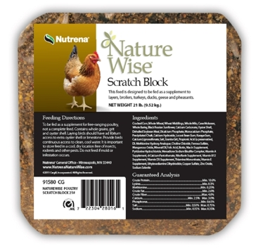 Nutrena Nature Wise Scratch Block Feed 21lb