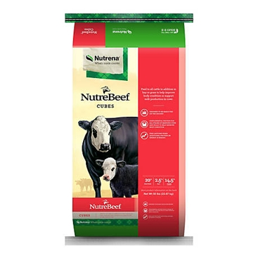 Nutrena Nutrebeef 20% Cube Feed 50lb