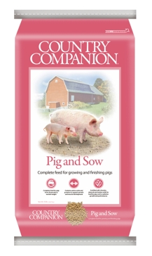 Country Companion Pig & Sow Feed 50lb Bag