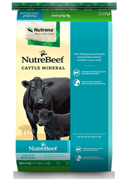 Nutrena NutreBeef Mineral Cattle Feed 50lb