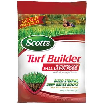 Scotts Turf Builder WinterGuard Fall Lawn Food 5000sqft