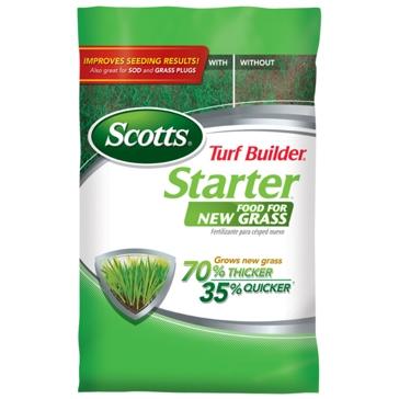 Scotts Turf Builder Starter Food For New Grass 5000sqft