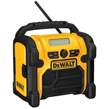 Dewalt Worksite Radio and Charger DCR018