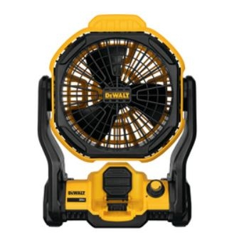 DeWalt 11 IN. CORDED/CORDLESS JOBSITE FAN DCE511B