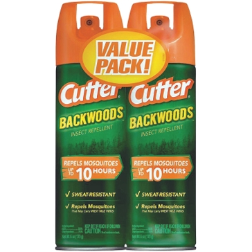 Cutter Backwoods 6-oz Insect Repellent (2-Pack)