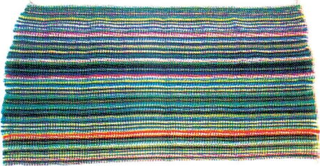 Crocheted Rag Rug - Assorted Styles/Colors
