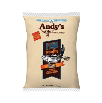Andy's Yellow Fish Breading 5lb Bag