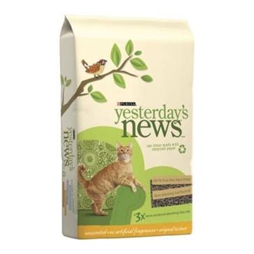 Purina Yesterday's News Original Formula Cat Litter 15lb