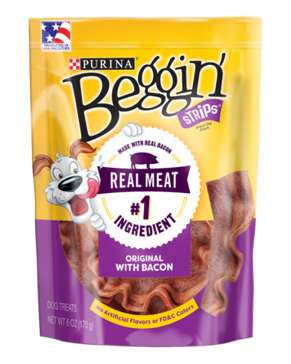 Purina Beggin' Strips Bacon Flavor - 25oz
