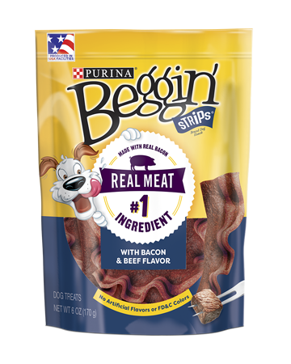 Purina Beggin' Strips Bacon & Beef Flavor - 25oz