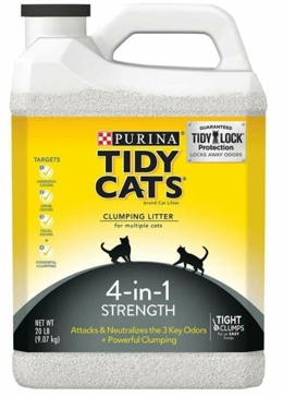 Tidy Cats Scoop 4-in-1 Strength Clumping Cat Litter 20lb