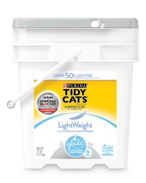Tidy Cats® Lightweight With Glade® Clear Springs™ Cat Litter 17 Lbs.