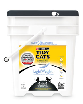 Tidy Cats® Lightweight 4-In-1 Strength Multi-Cat Litter 17 Lbs.