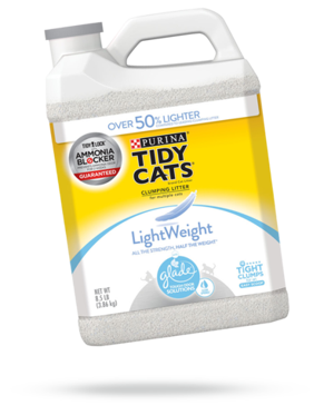 Tidy Cats® Lightweight With Glade® Clear Springs™ Cat Litter 8.5 Lbs.