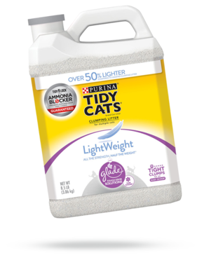 Tidy Cats® Lightweight With Glade® Clean Blossoms™ Cat Litter 8.5 Lbs.