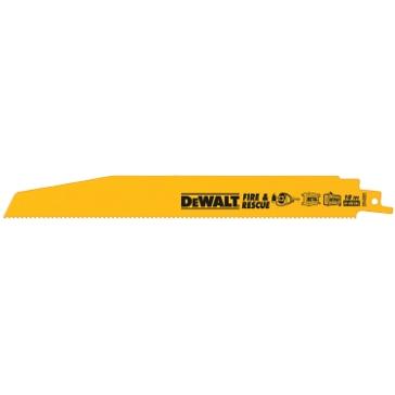 "Dewalt 9"" 5/8 TPI Taper Back Bi-metal Reciprocating Saw Blade (5 pack) DW4848"