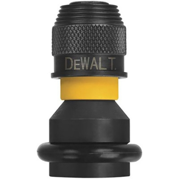 "Dewalt Impact Ready 1/2"" to 1/4"" Hex Shank Adaptor DW2298"