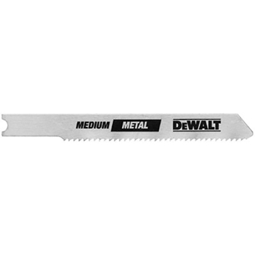 """Dewalt 4"""" 6 TPI T-Shank Clean Cutting Cobalt Steel Jig Saw Blade DW3753-5"""