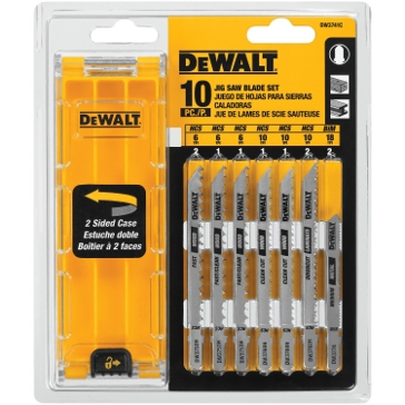 Dewalt 10-Pc. Jig Saw Blade Set DW3741C